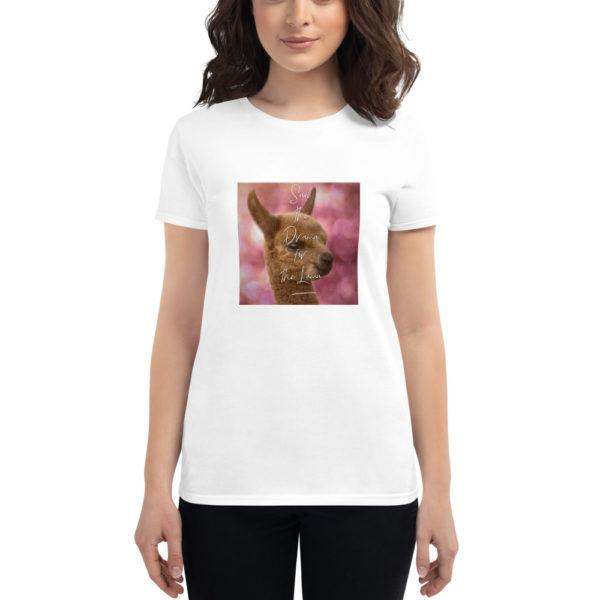 Alpaka T-Shirt - Save the Drama for the Lama