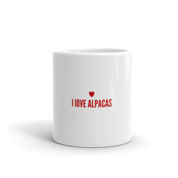 Alpaka Tasse - I love Alpacas