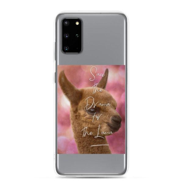 Alpaka Handyhülle Samsung- Save the Drama for the Lama